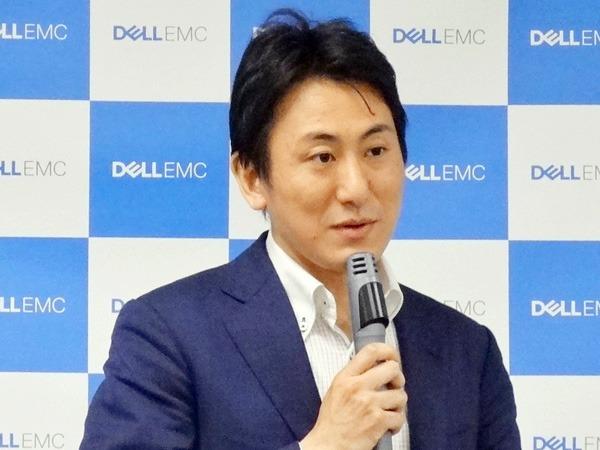 Dell Technologies(EMCジャパン)DPS事業本部 シニア・ビジネス・ディベロップメントマネージャー 西頼大樹氏