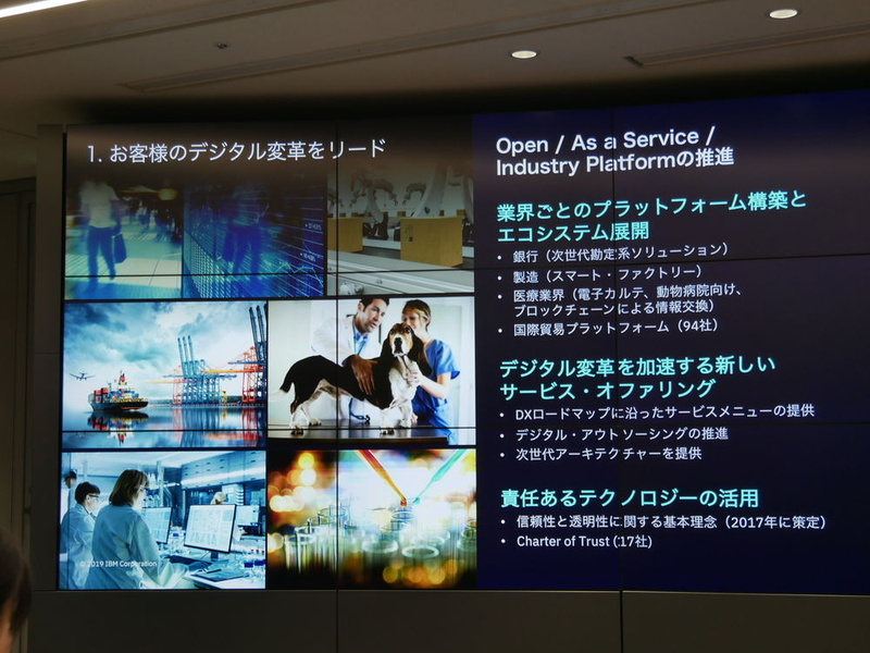 Open/As a Service/Industry Platformの推進