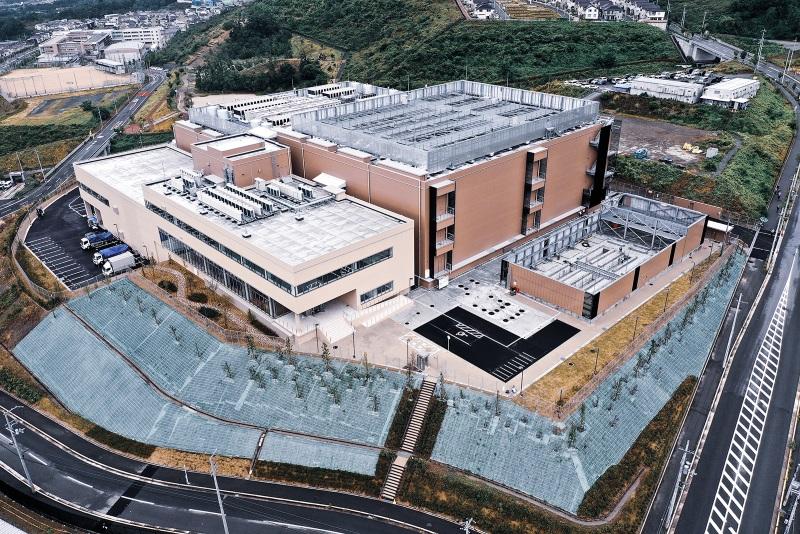 デジタル・リアルティの第2大阪データセンター(KIX11)