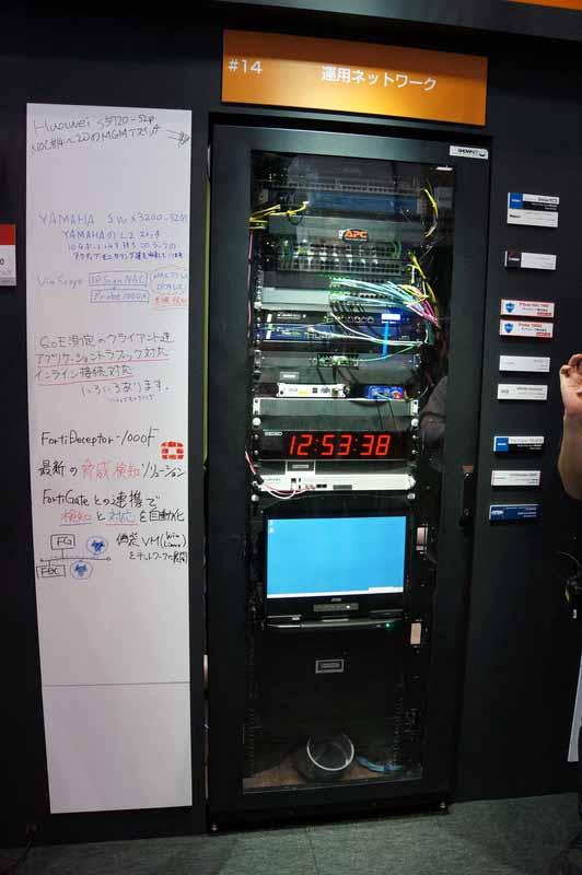 ラック14:運用系ネットワーク
