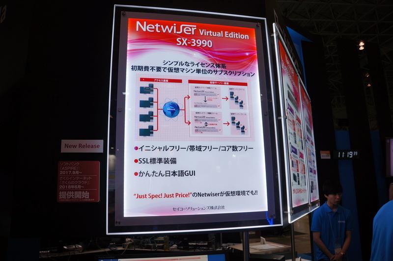 ソフトウェア版ロードバランサーNetwiser Virtual Edition