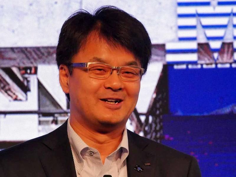 日本IBMの山口明夫社長