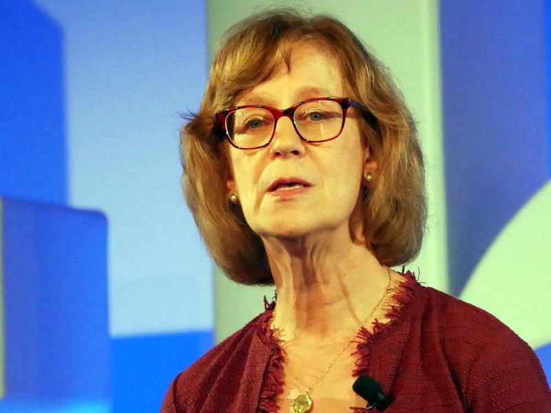 米IBM バンキング&フィナンシャルマーケッツ担当グローバルマネージングディレクターのサラ・ダイアモンド氏