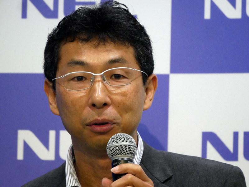 NEC フェロー 今岡仁氏