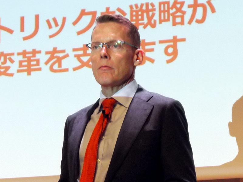 米Pure Storage 戦略部門副社長のマット・キックスモーラー氏