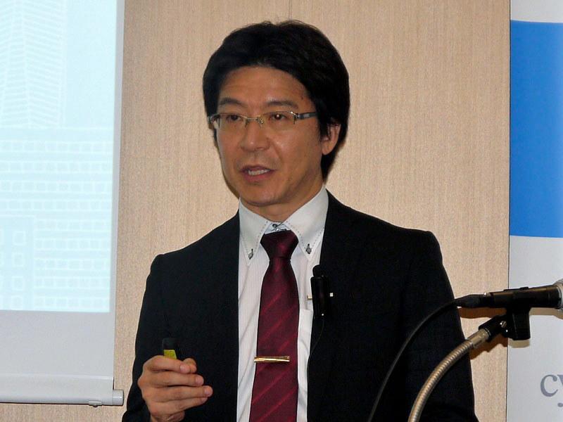 サイバートラスト 副社長 執行役員の伊東達雄氏