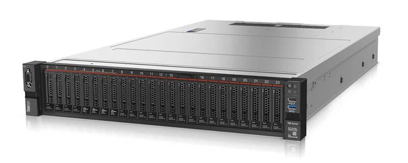 写真1:レノボのサーバーにNutanixのソフトウェアを搭載したHCI製品「Lenovo ThinkAgile HX」シリーズ(出典:レノボ)