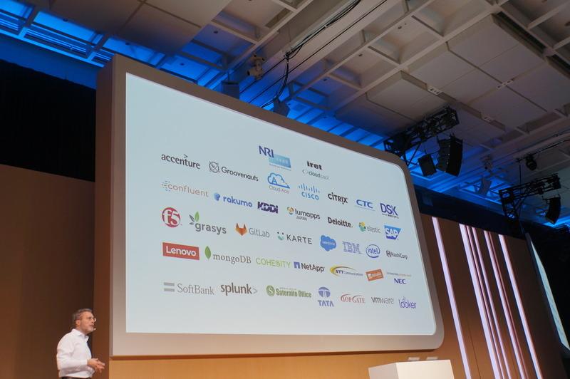 デジタルトランスフォーメーションプラットフォームのパートナー企業