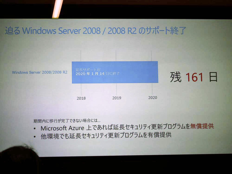 Windows Server 2008/2008 R2の延長サポート終了が迫っている