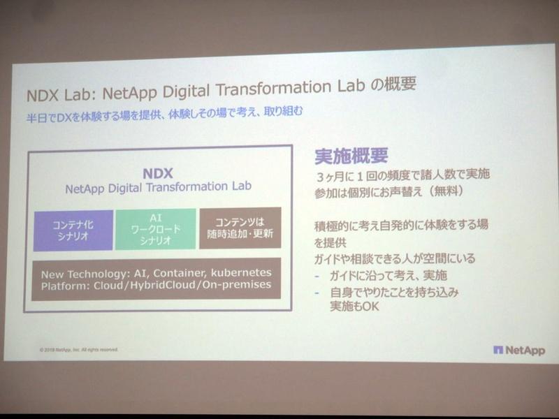 NetApp Digital Transformation Labの概要
