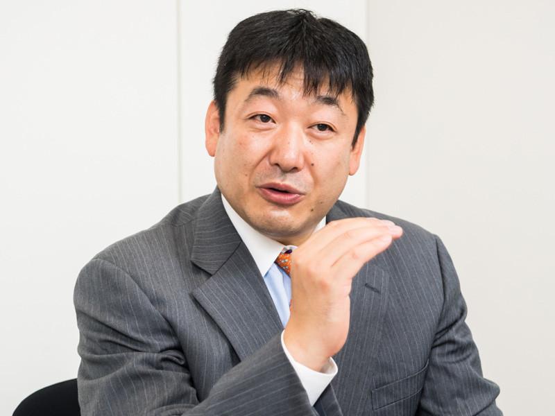 メラノックス テクノロジーズ ジャパン パートナー営業部 シニア ソリューション アーキテクトの小宮崇博氏