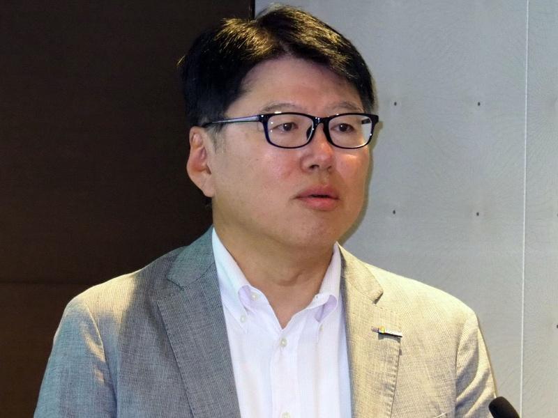日本マイクロソフト 執行役員常務 パブリックセクター事業本部長の佐藤知成氏