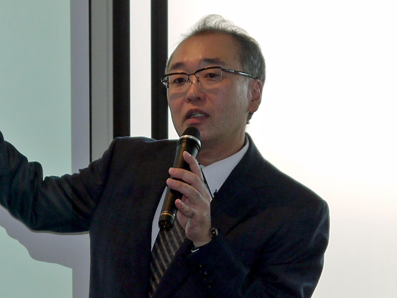 ラック 理事 シニアコンサルタントの槻山幸司氏