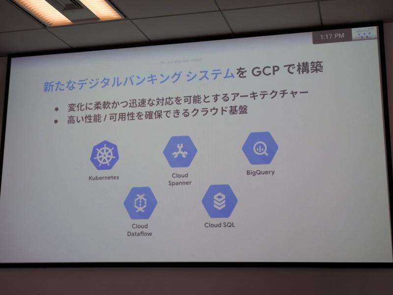 新たなデジタルバンキングシステムをGCPで構築
