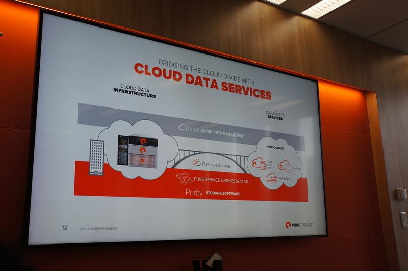 ハイブリッドクラウドと、共通で使えるPure Storageのストレージソフトウェア「Purity」