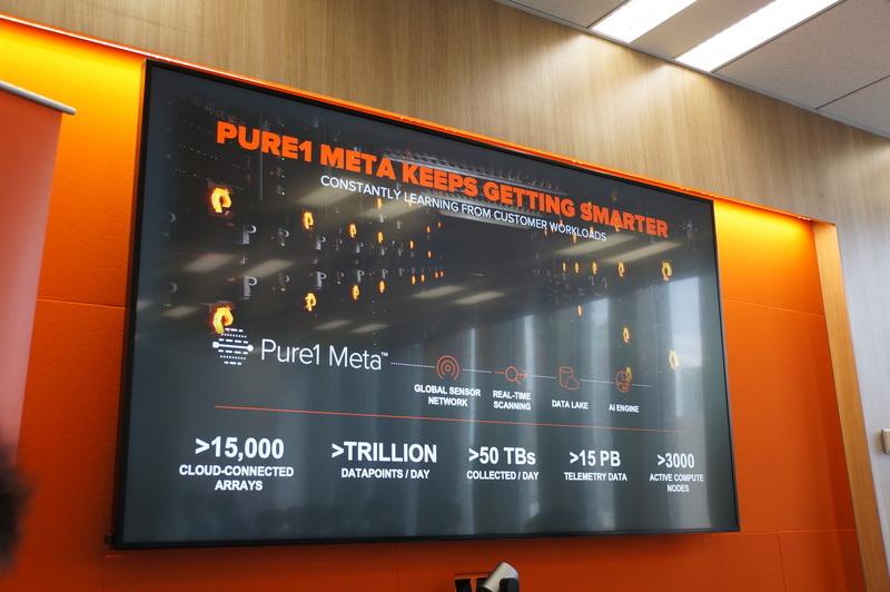予測分析のためのAIエンジン「Pure1 Meta」のスマート化