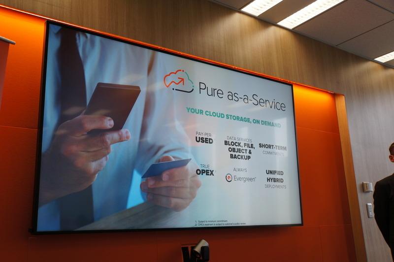 全製品をサブスクリプションで利用できる「Pure as-a-Service」