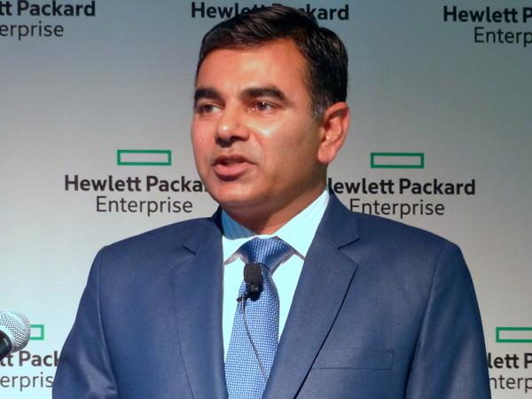 米Hewlett-Packard Enterprise HPEストレージ クラウド・データサービス担当 バイスプレジデント 兼 ゼネラルマネージャー アシッシュ・プラカーシュ氏