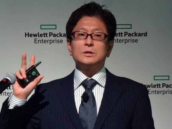 日本ヒューレット・パッカード ハイブリッドIT事業統括 データプラットフォーム技術本部 エバンジェリスト 高野勝氏