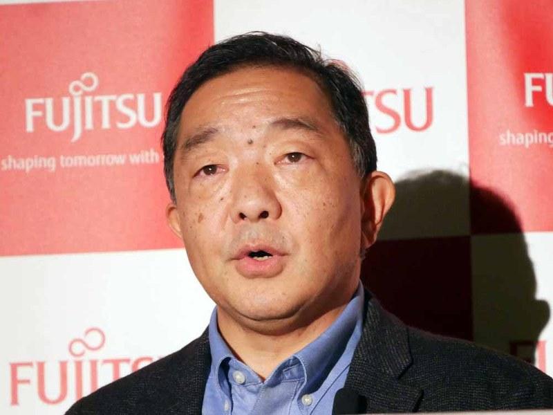 富士通研究所 代表取締役社長の原裕貴氏