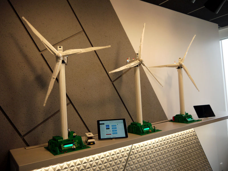 風力発電システム管理のデモンストレーション