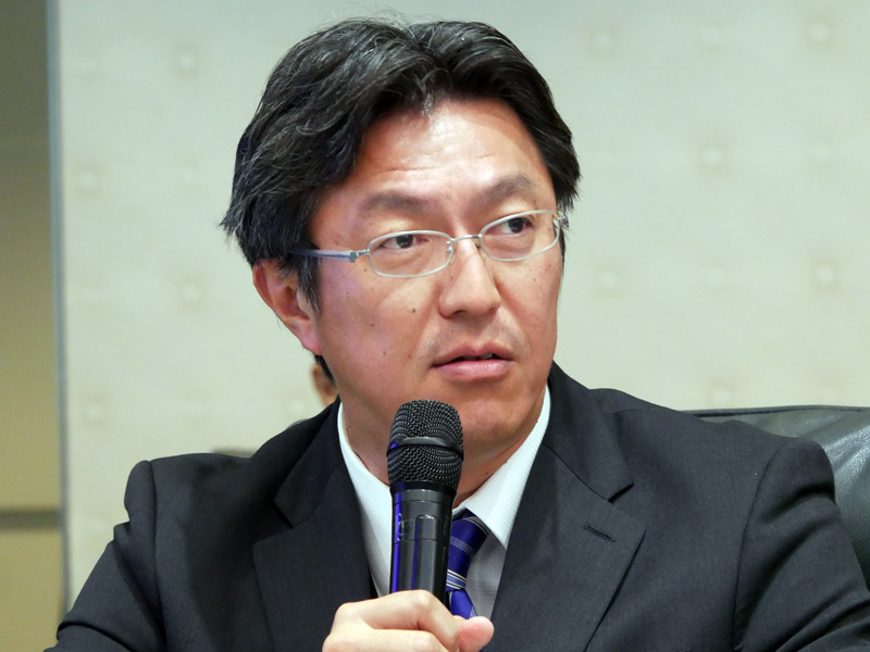日本マイクロソフト 執行役員常務 サービス事業本部長の内田聡氏
