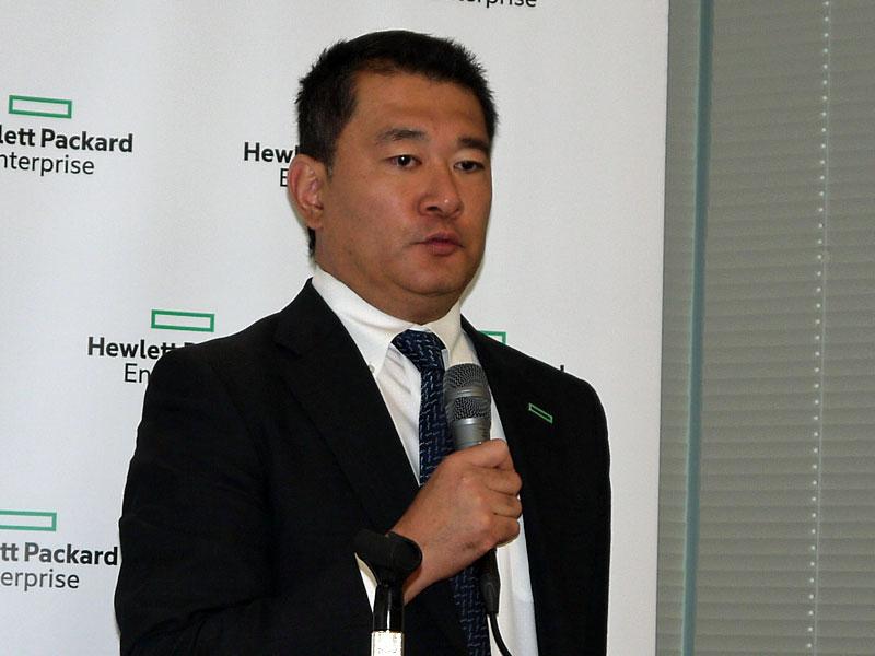 日本ヒューレット・パッカード 執行役員 ハイブリッドIT事業統括の五十嵐毅氏