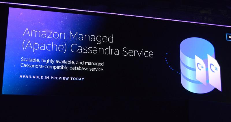 マネージドデータベースサービスとして追加された「Amazon Managed Cassandra Service(MCS)」の登場は、Cassandraコミュニティも大歓迎。Cassandraの煩雑な管理からユーザーを開放する