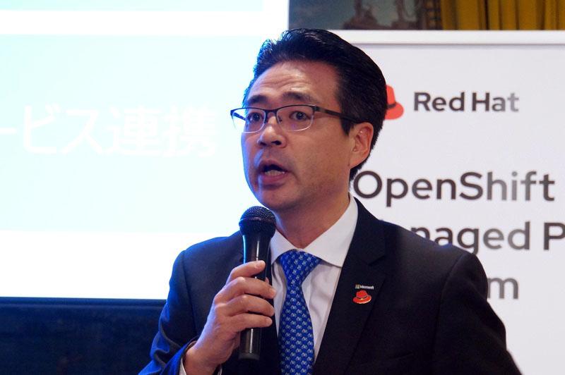 日本マイクロソフトの佐藤久氏(パートナー事業本部 パートナー技術統括本部 業務執行役員)