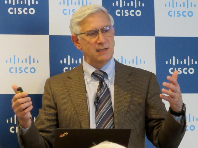 米Cisco シニアバイスプレジデント兼最高情報責任者のスティーブ・マルティーノ氏