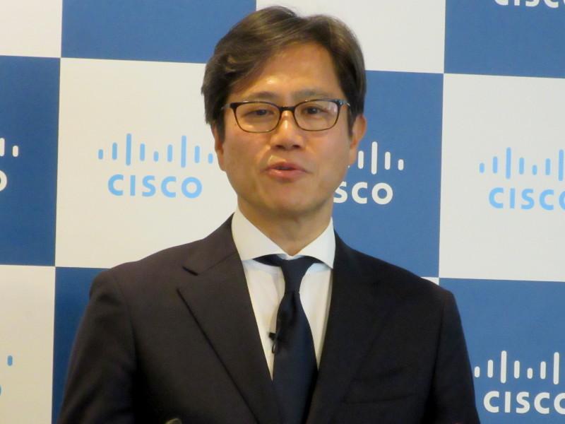 シスコ 執行役員 セキュリティ事業担当 田井祥雅氏