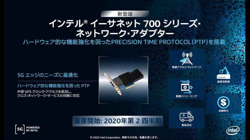 インテルイーサネット700シリーズ