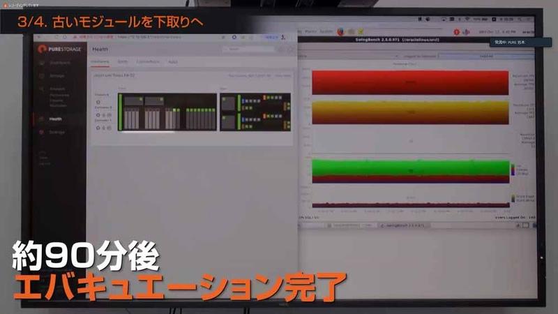 新しいNVMeモジュールにデータをコピー(エバキュエーション)