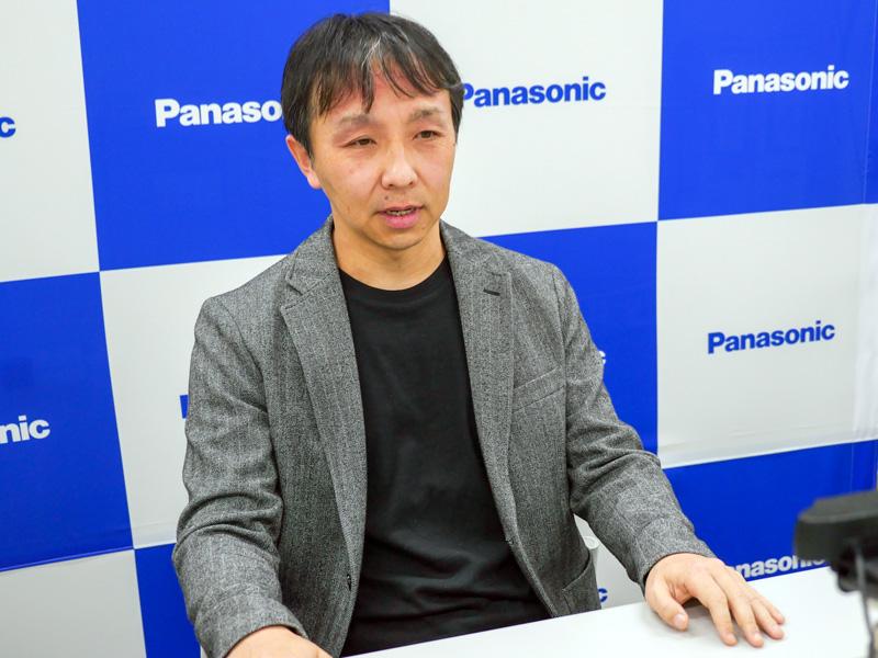 パナソニック テクノロジー本部 事業開発室 エッジコンピューティングPFプロジェクト総括担当の宮崎秋弘氏