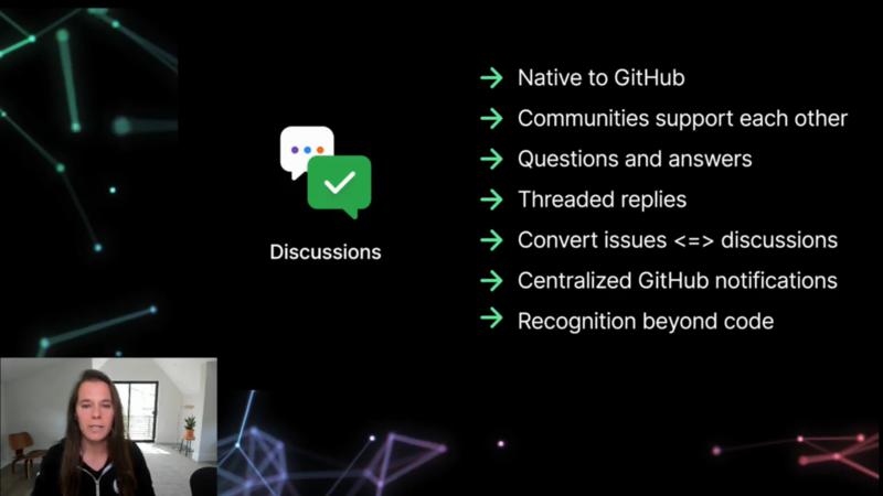 GitHub Discussionの特徴