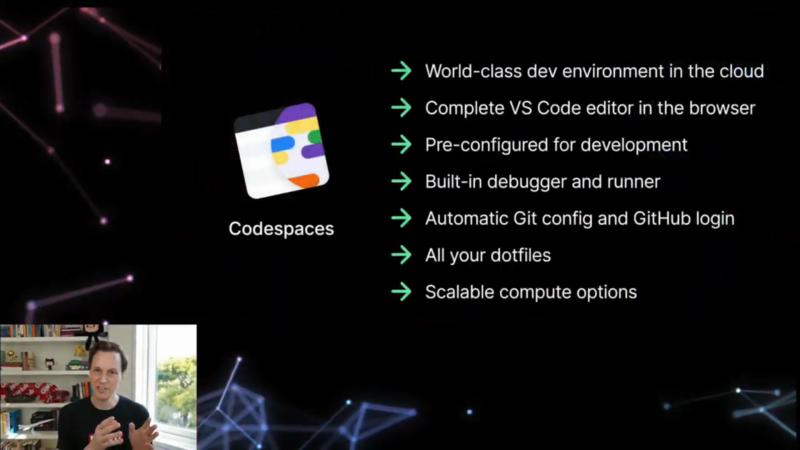 GitHub Codespacesの特徴
