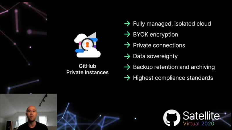 GitHub Private Instancesの特徴