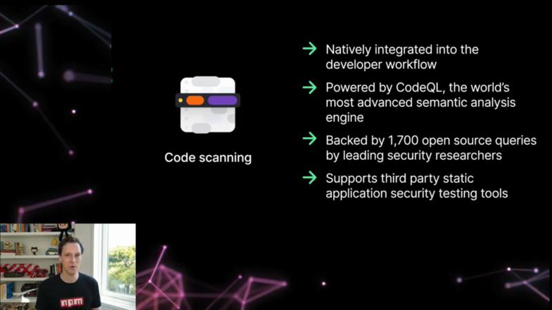GitHub Code Scanningの特徴