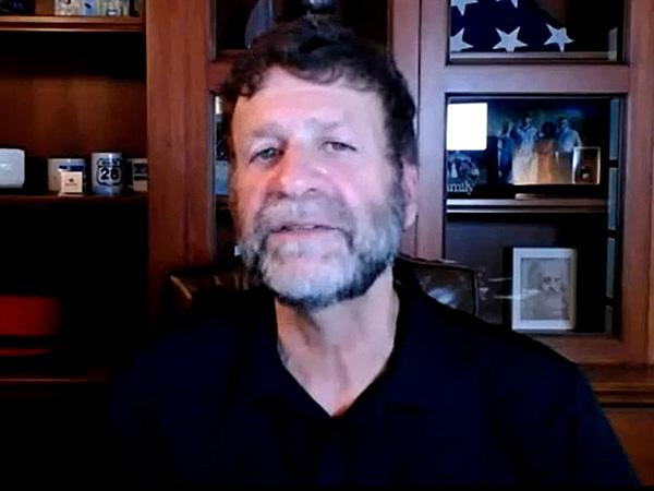 ポール・コーミア氏。CEOとしての初めてのRed Hat Summitはオンラインによる自宅からの登壇となった