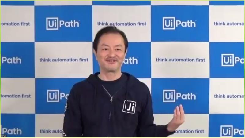 UiPath株式会社 代表取締役CEO 長谷川康一氏