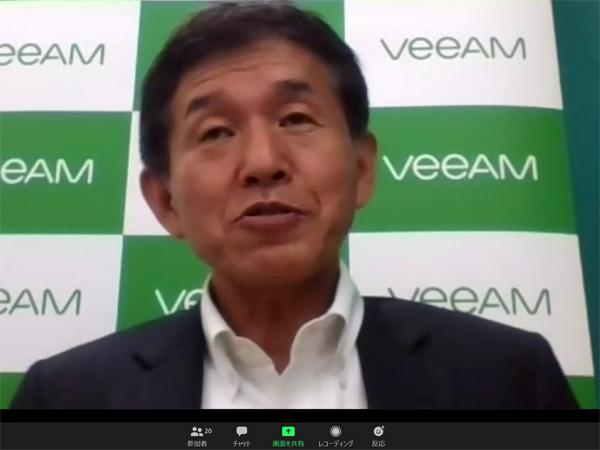 ヴィーム・ソフトウェアの古館正清社長