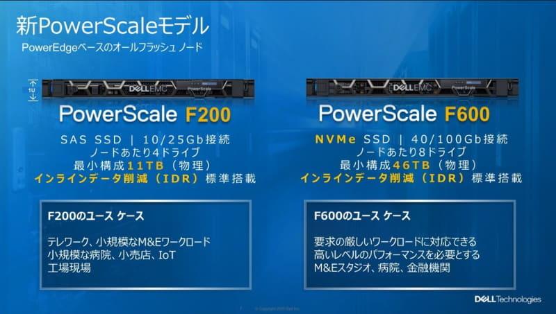 PowerScale新製品