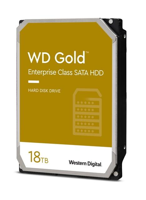 WD Gold CMR HDD(18TBモデル)