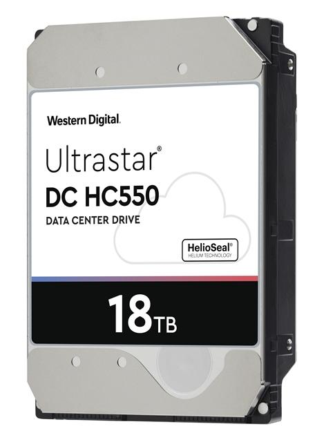 Ultrastar DC HC550 CMR HDD(18TBモデル)
