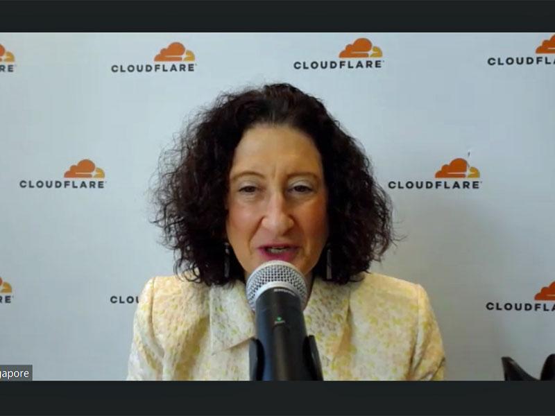 米Cloudflare APAC代表のアリザ・ノックス氏
