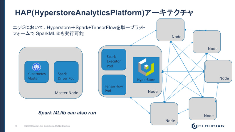 Hyperstore Analytics Platform(HAP) ARCHITECTURE