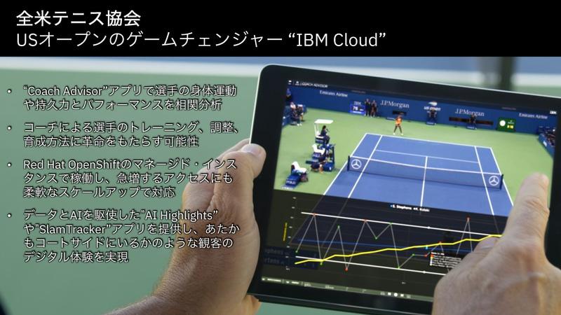 全米テニス協会の事例