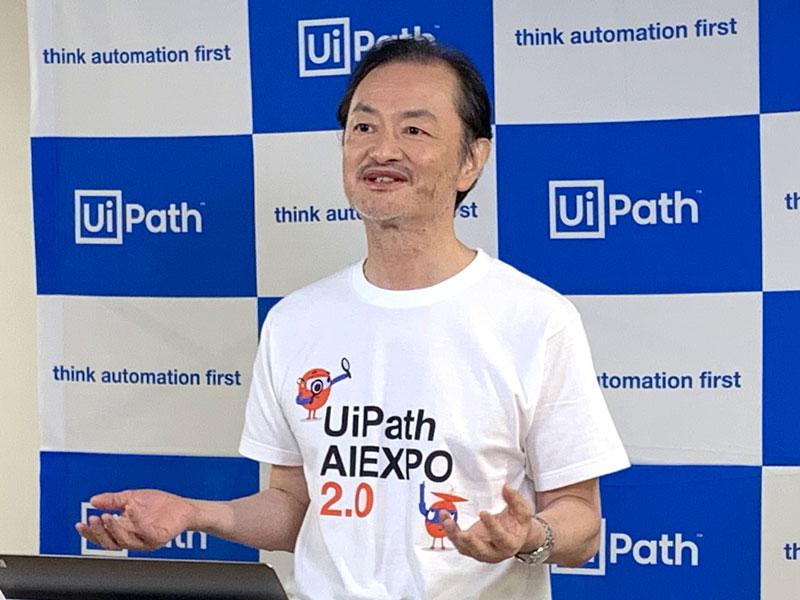 UiPath 代表取締役CEOの長谷川康一氏