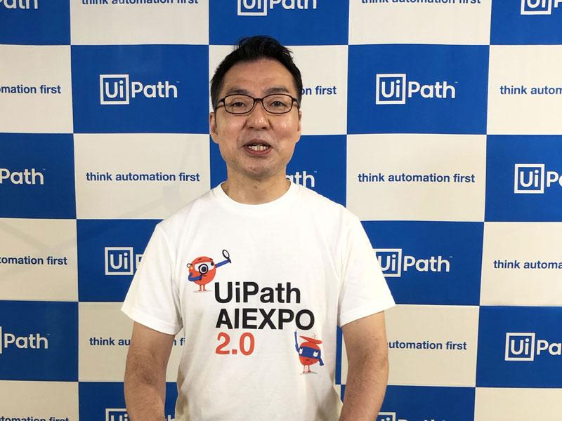 UiPath ソリューション本部 エバンジェリストの鷹取宏氏