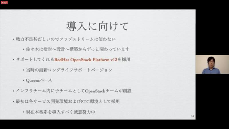Red Hat OpenStack Platformを採用
